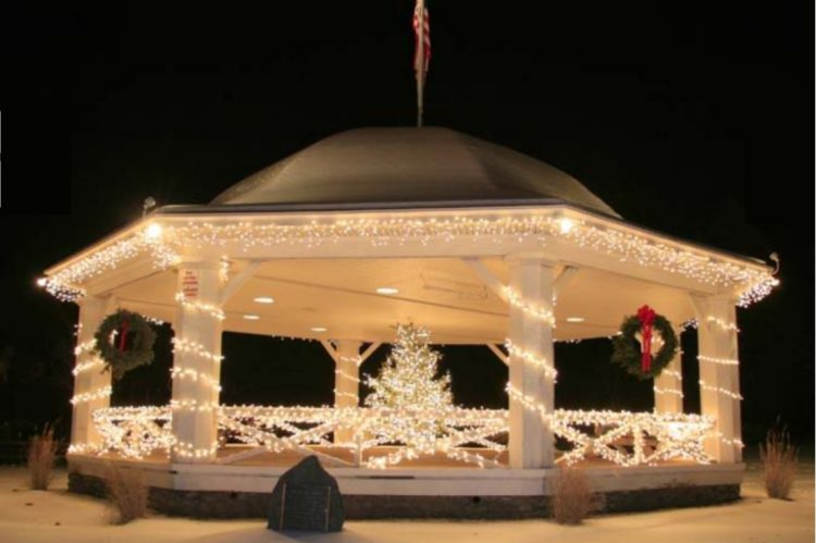 Hawley Gazebo photo by George Hibbs.