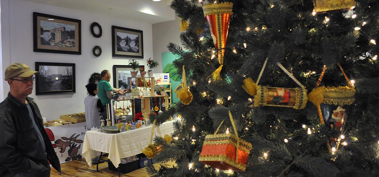 Hawley Winterfest Christmas tree