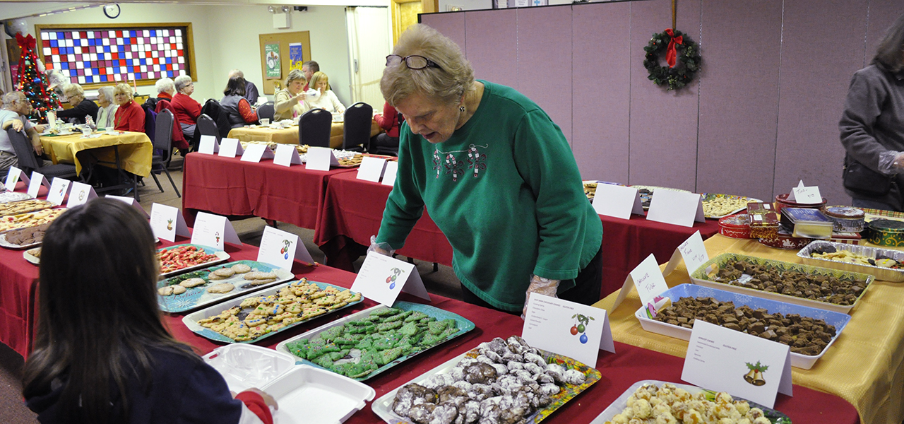 Hawley Winterfest Christmas cookies