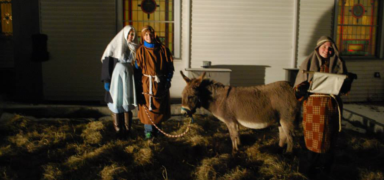 Hawley Winterfest Nativity Scene