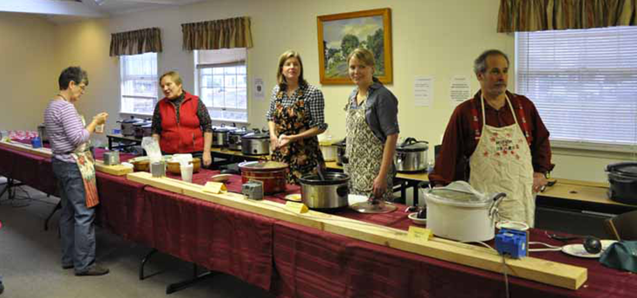 Hawley Winterfest Soup Line
