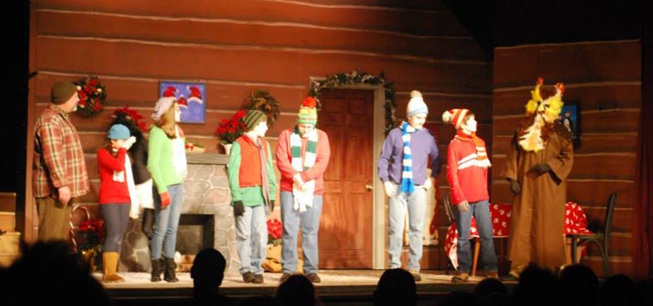 Hawley Winterfest theatre